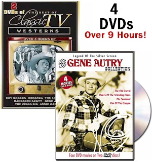 TV Westerns/Gene Autry DVD Collection - #6697