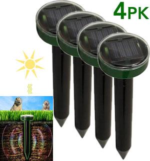 Solar Powered Pest & Rodent Repeller