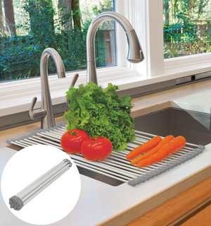 Over the Sink Roll-Up Drying Rack - #6721