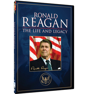Ronald Reagan - The Life and Legacy DVD - #6733