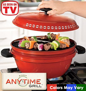 Minden Anytime Grill - As Seen On TV - #6736