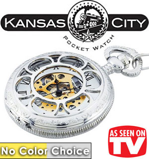 The Original Kansas City Railroad Pocket Watch