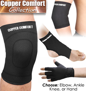 Copper Comfort Wear Braces - #6757