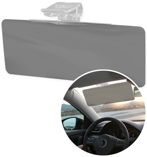 Anti-Glare Auto Sun Visor - #6775