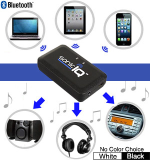 SonicIQ Dual Use Bluetooth Music Receiver - #6777