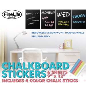 Chalkboard Stickers - #6778