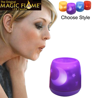 Magic Flame LED Candle - #6837