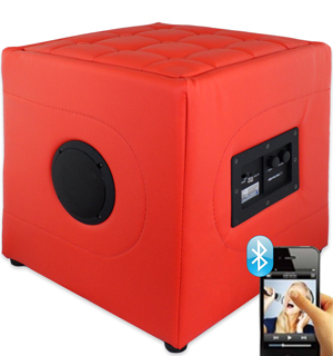 Bluetooth Ottoman Speaker by SoundLogic - #6838
