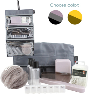 Travel Essentials Kit - Includes 70 toiletry essentials - #6860