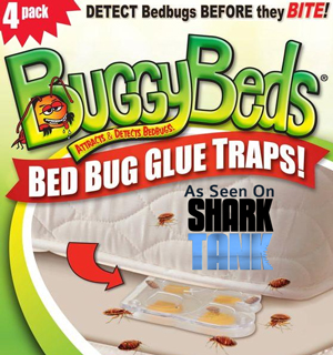Buggy Beds - Attracts and Detects Bedbugs - #6863