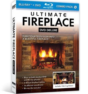 Ultimate Fireplace Blu-Ray / DVD Deluxe - #6869