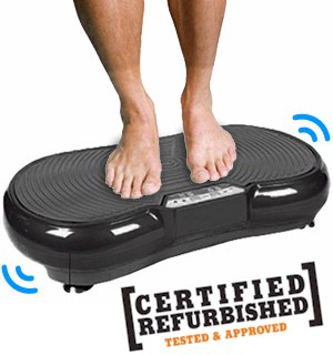 REFURBISHED Fit Body Slimmer and Toner Vibration Machine - #6870RF