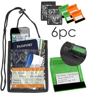 Travel Wallet and Luggage Spotter Set - #6884