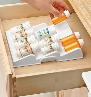 Prescription or Spice Bottle Organizer - #6904