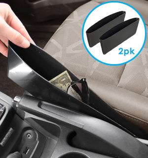 Car Pockets: Car Seat Catch All  (Set of 2) - #6911