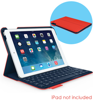 Ultrathin Keyboard Folio Case/Cover for iPad Air by Logitech - #6931