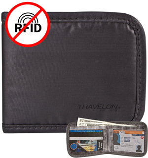 Travelon Safe ID Wallet - #6937
