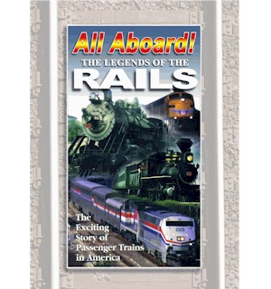 All Aboard: Legends of Rails DVD - #6949