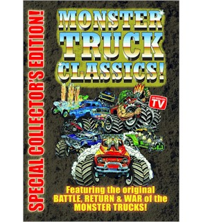 Monster Truck Classics - 3 Hour Collector's Edition On 1 DVD - #6952