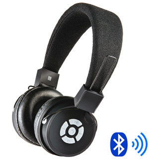 bluetooth stereo headphones w built in mic pulsetv. Black Bedroom Furniture Sets. Home Design Ideas