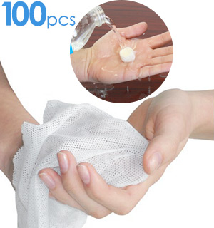 BLOW-OUT PRICE - 100 Pop-Up Towels (10pack) - #6960C