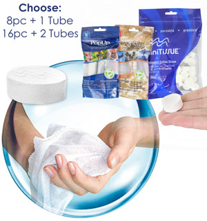 On The Go Pop Up  Wipes - #6961