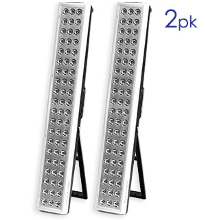 What-A-Light! 2-pack Rechargeable LED Light (Refurbished) - #6976