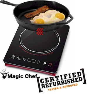 REFURBISHED Magic Chef Induction Countertop Cooktop - #6977A