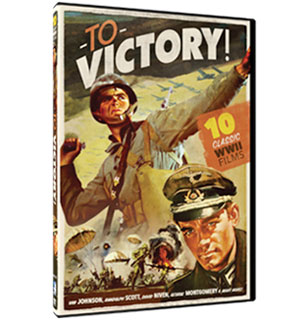 To Victory - 10 WWII Movie Collection on 3 DVDs - #7016
