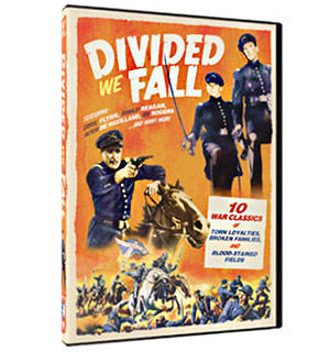 Divided We Fall - 10 Civil War Movie Collection DVD - #7034