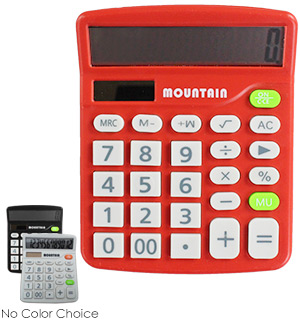 Pocket Calculator 2-Pk - #7044A