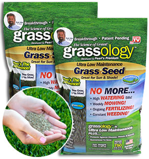 Grassology - Ultra Low Maintenance Grass Seed 2-pk - #7057A