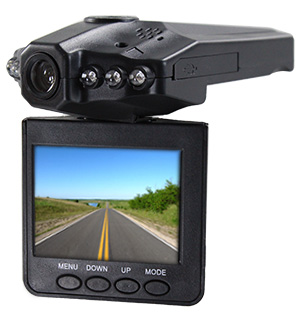 "HD Dash Cam 2.5"" Flip Down LCD - #7068"