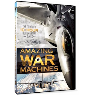Amazing War Machines 3-DVD Collection - #7076