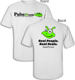 Official PulseTV.com T-Shirt - #7083