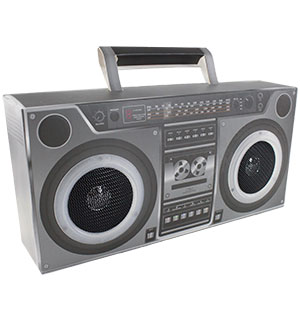 Boom Box Cardboard Speaker - Fun to Assemble - #7098