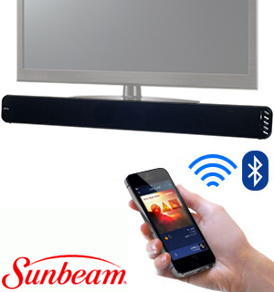 "37"" Bluetooth Soundbar by Sunbeam - #7102"
