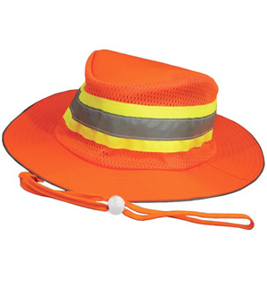 LG/XL Reflect Safety Orange Boonie Hat - #7143