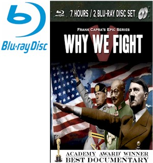 Why We Fight Frank Capra's Epic Documentary Series 2 Blu-Ray Disc Set - #7145