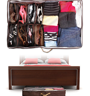 Hide A Closet - Under The Bed Organizer - #7194