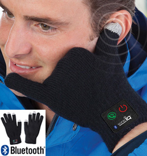 Bluetooth Hands-Free Talking Gloves - #7197