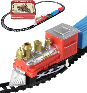 Collectible Train In A Tin (Battery Operated) - #7209