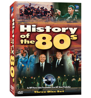 History Of The 80's (3-DVD Collection) - #7215