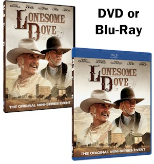 Lonesome Dove Miniseries DVD or Blu-Ray - #7217