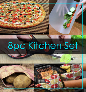 8 Piece Kitchen Essential Kit - #7240