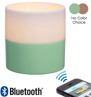 SoundGlow Candle and Bluetooth Speaker - #7255