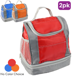 Insulated Lunch Bags 2PK - #7280A