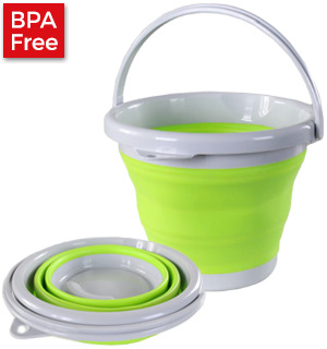 Collapsible Silicone Bucket - #7289