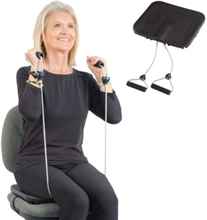 Low Impact Chair Exerciser - Turn Any Chair Into A Workout Machine - #7297