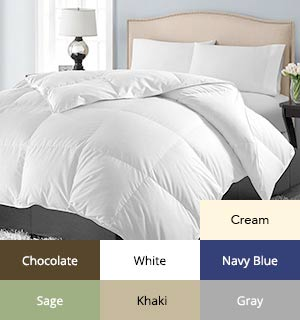 Luxury Home Over-filled Down-Alternative Comforter - #7346